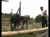 фильм 8  Октябрь 2009 г  Строительство Общего Дома ...